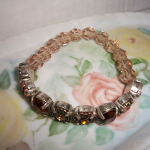 NRT Crystal Stretch Bracelet